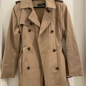😁long beige brown trench coat (Rarely worn)